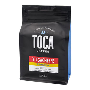 Ethiopia Yirgacheffe - fragrant delicate citrus lemon - TOCA Coffee