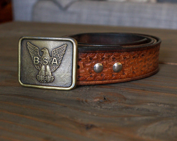 Making this 16 year old belt sparked my love for quality leather goods