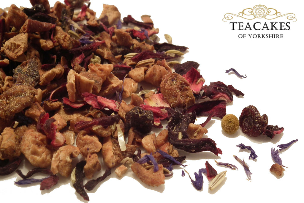 Honey & Liquorice Herbal Tea Infusion 1kg 1000g - TeaCakes of Yorkshire