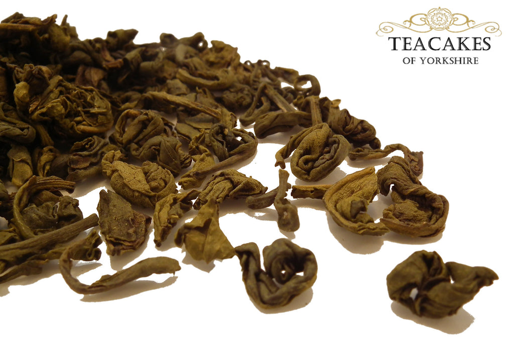 Mint Green Tea Green Aromatic Loose Leaf 100g - TeaCakes of Yorkshire