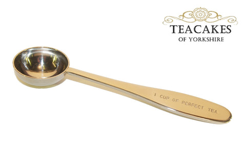 Tea Measuring Spoon Quality Stainless Steel 18/10 -£6.95 inc VAT - TeaCakes of Yorkshire