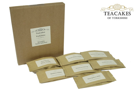 Speciality Tea Taster Samples Loose Leaf 7 x 10g - TeaCakes of Yorkshire