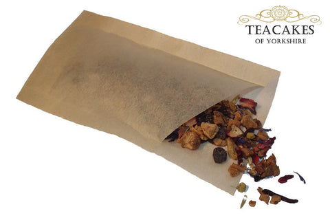 Un-bleached Tea Coffee Herb Bags sack filters 100 x 2-4 Cup (£5.95  inc VAT) - TeaCakes of Yorkshire