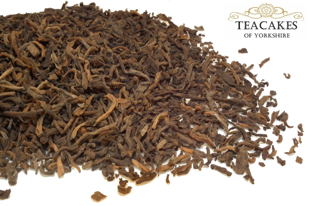 Golden Pu-erh Tea Loose Leaf  5yrs Best Quality 250g - TeaCakes of Yorkshire