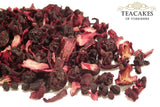 Tea Gift Set Berry Berry Herbal Fruit Infusion 100g - TeaCakes of Yorkshire