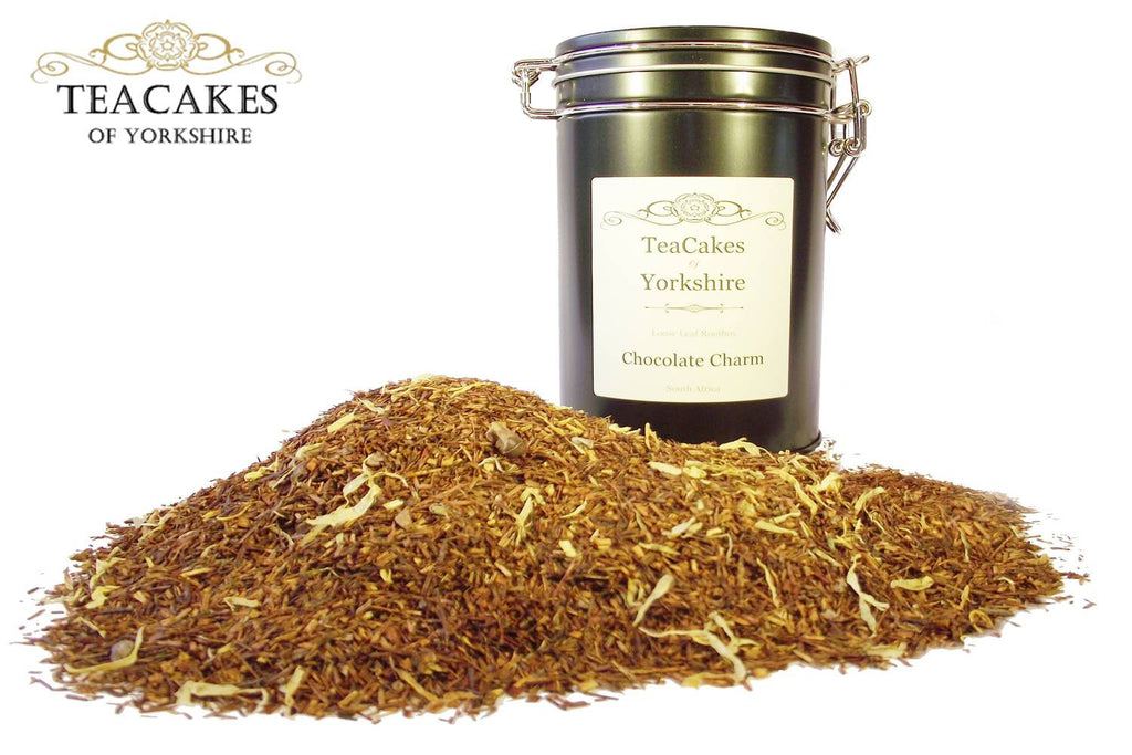 Rooibos Tea (redbush) Gift Caddy Infusion Chocolate 100g