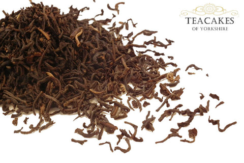 Black Decaffeinated Tea English Breakfast Leaf Various Sizes - TeaCakes of Yorkshire