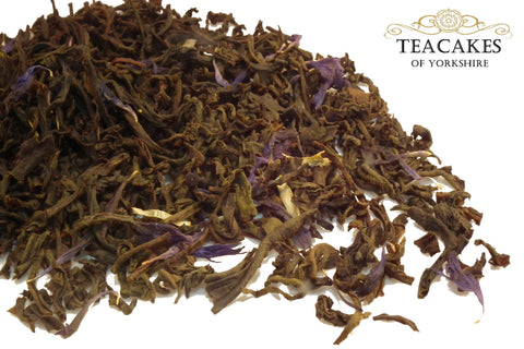 Earl Grey Tea Black Flavoured Loose Leaf 1kg 1000g - TeaCakes of Yorkshire