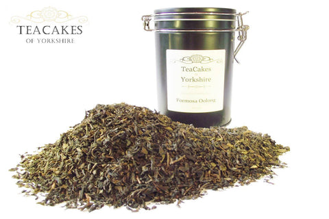 Formosa Oolong Tea Gift Caddy Loose Leaf 100g - TeaCakes of Yorkshire