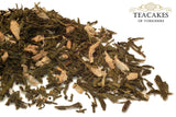 Green Loose Leaf Tea Ginger Flavoured 1kg 1000g - TeaCakes of Yorkshire