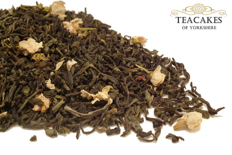 Green Loose Leaf Tea Jasmine Blossom Various Options - TeaCakes of Yorkshire