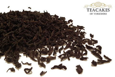 Lapsang Souchong Tea Black Smoked Loose Leaf 100g - TeaCakes of Yorkshire
