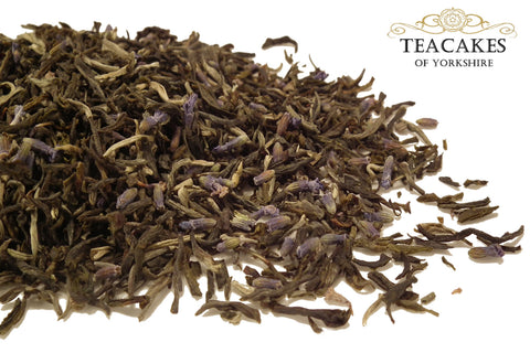 Green Loose Leaf Tea Lavender Butterfly Various Options - TeaCakes of Yorkshire