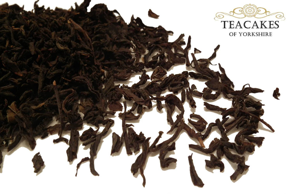 Organic Lapsang Souchong Tea Black Loose 100g - TeaCakes of Yorkshire