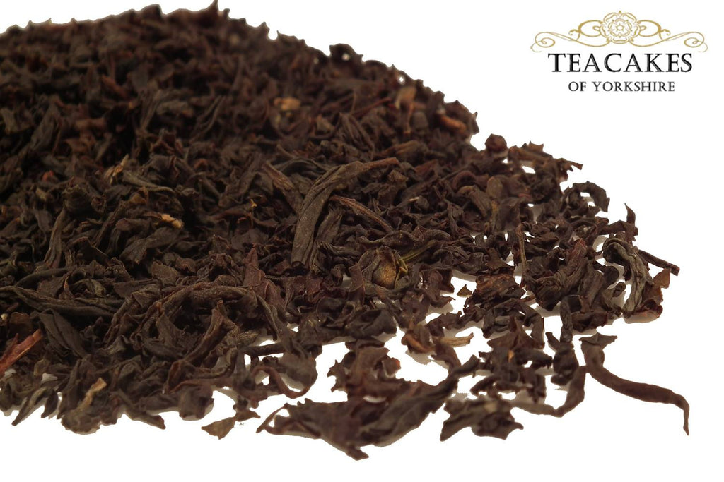 Black Loose Leaf Tea Russian Caravan Smoked Options