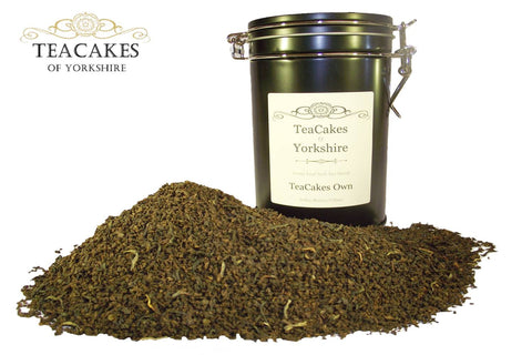 Black Loose Leaf Tea 100g Gift Caddy TeaCakes Own - TeaCakes of Yorkshire