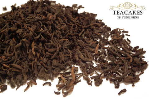 Young Pu-erh Tea Loose Leaf 100g - TeaCakes of Yorkshire