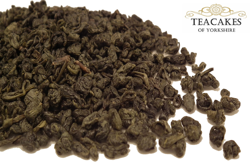 Green Loose Leaf Tea Formosa Gunpowder Options - TeaCakes of Yorkshire