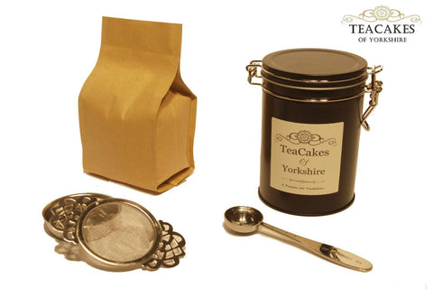 Tea Gift Set Ginger Green Flavoured Loose 100g – TeaCakes of Yorkshire