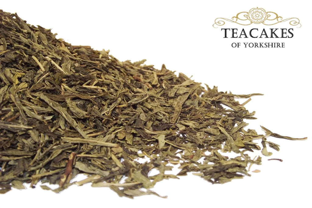 Decaffeinated Green Tea Kyushu Sencha Loose Leaf 100g - TeaCakes of Yorkshire