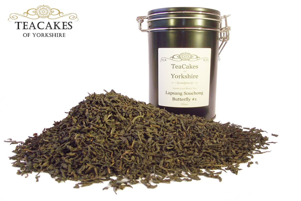 Lapsang Souchong Tea Gift Caddy Black Loose Leaf 100g - TeaCakes of Yorkshire