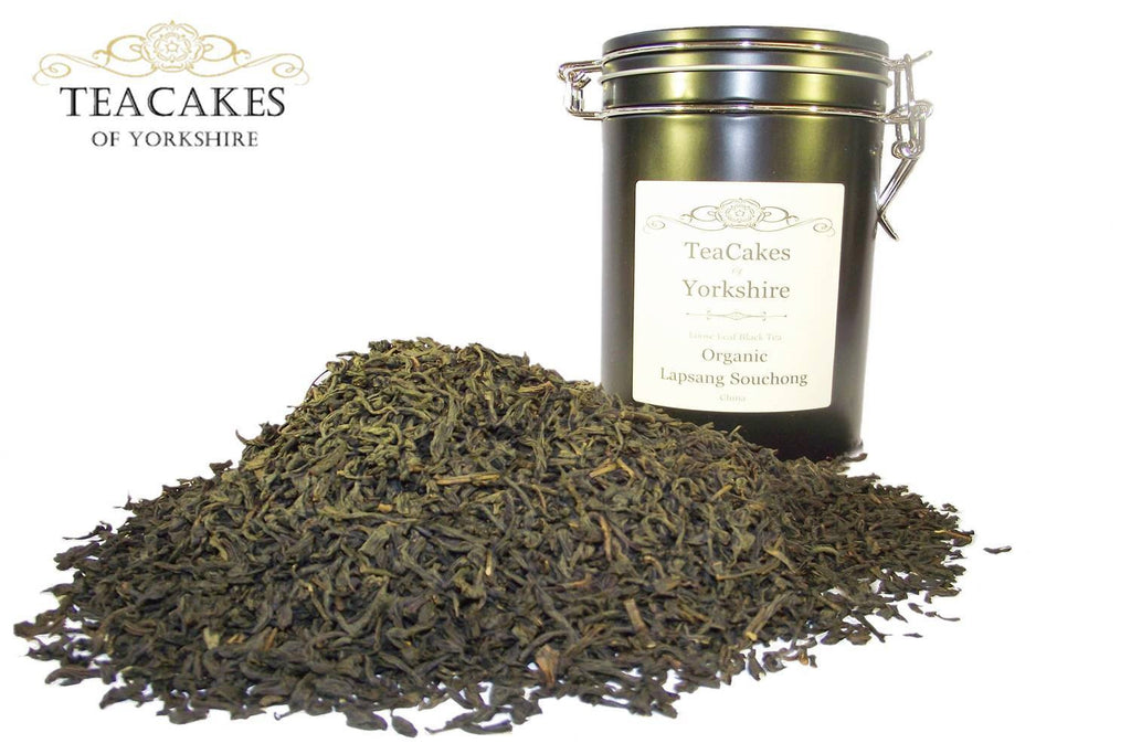Organic Lapsang Souchong Tea Gift Caddy 100g - TeaCakes of Yorkshire