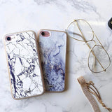 iPhone 7 Case Marble Slab - Clear Crusader
