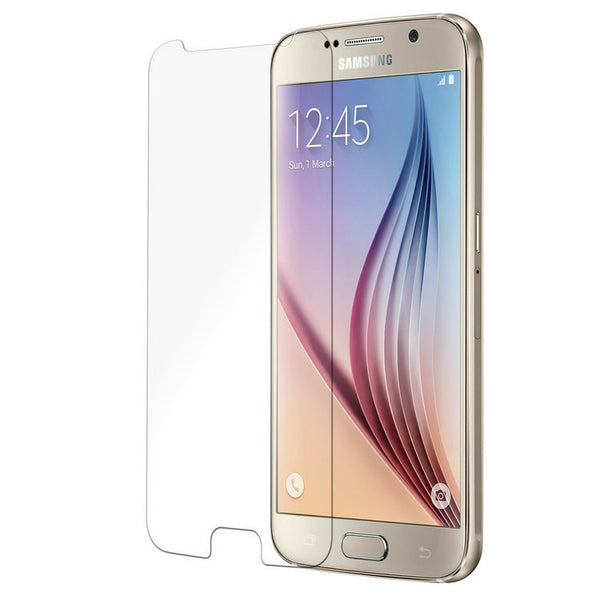 Unnito Samsung Galaxy S6 Tempered Glass Screen protector (HD - Clear)