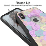 Valentines Cray Hybrid Case for iPhone - Black Case