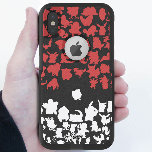 Poke Team Hybrid Case for iPhone - Black Case