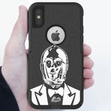 Tux3PO Hybrid Case for iPhone - Black Case