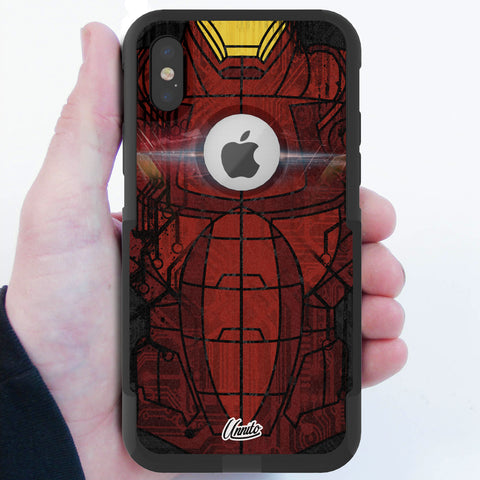 Stark Suit Hybrid Case for iPhone - Black Case