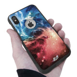 Nebula Stars Hybrid Case for iPhone - Black Case