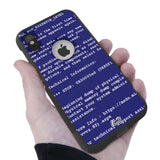 BSOD Hybrid Case for iPhone - Black Case