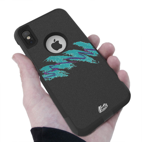 Jazzy 90's Hybrid Case for iPhone - Black Case