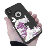 LLama Wave Hybrid Case for iPhone - Black Case