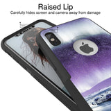Nebula Northern Lights Hybrid Case for iPhone - Black Case