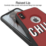 Chill Hybrid Case for iPhone - Black Case