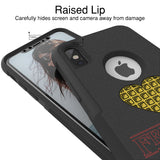 Friends Dont Lie Hybrid Case for iPhone - Black Case
