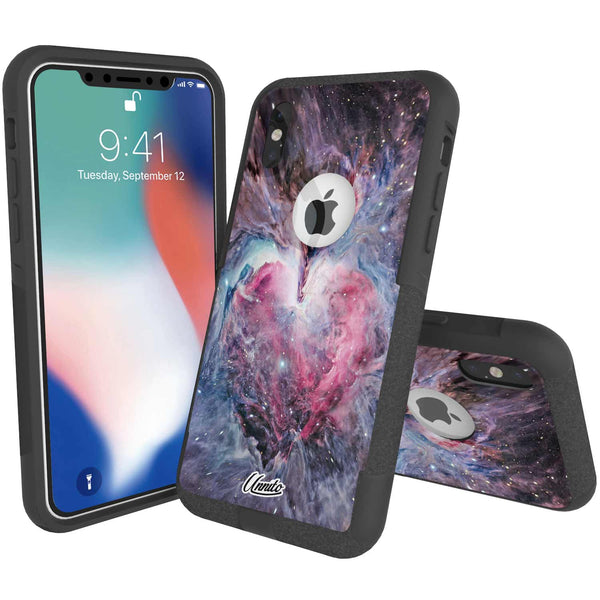 Nebula Heart Hybrid Case for iPhone - Black Case