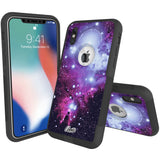 Nebula Tree Hybrid Case for iPhone - Black Case