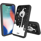 Spill Space Hybrid Case for iPhone - Black Case