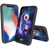 Nebula Sci Fi Hybrid Case for iPhone - Black Case