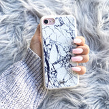 iPhone 7 Clear Case Marble Slab - Crusader 2
