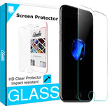 Unnito iPhone 7 Tempered Glass Screen protector (HD - Clear)