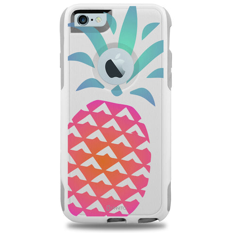 iPhone 6 Case White Hybrid Cute Pinapple by Unnito