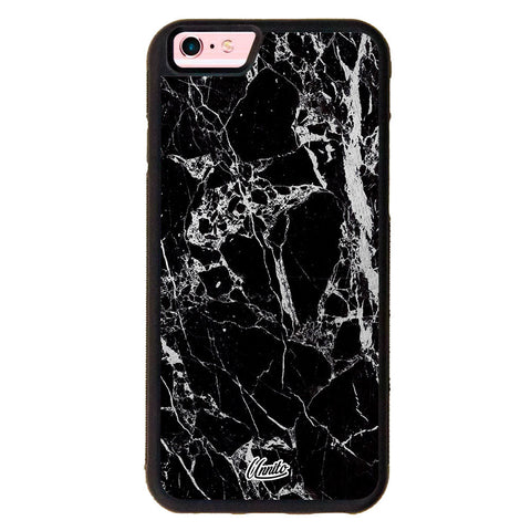 iPhone 6 Black Case Marble Black and White - Crusader Case