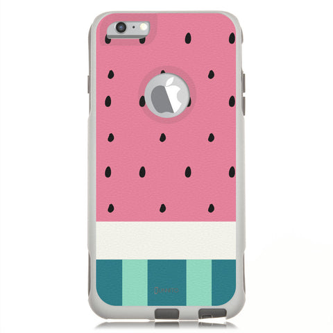 iPhone 6 Case White Hybrid Watermelon Pink By Unnito