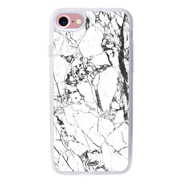 iPhone 7 Clear Case Marble Slab - Crusader