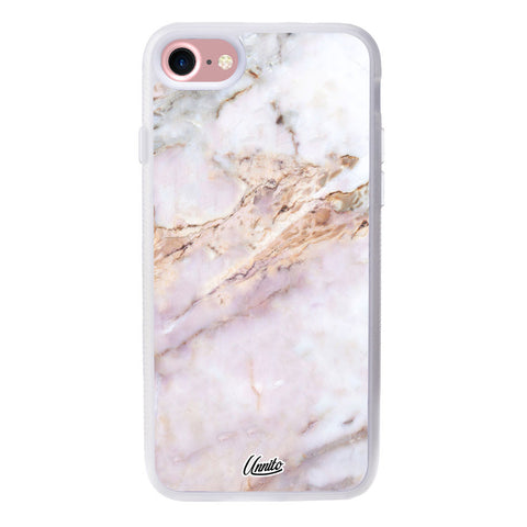 iPhone 7 Clear Case Marble Stone - Crusader